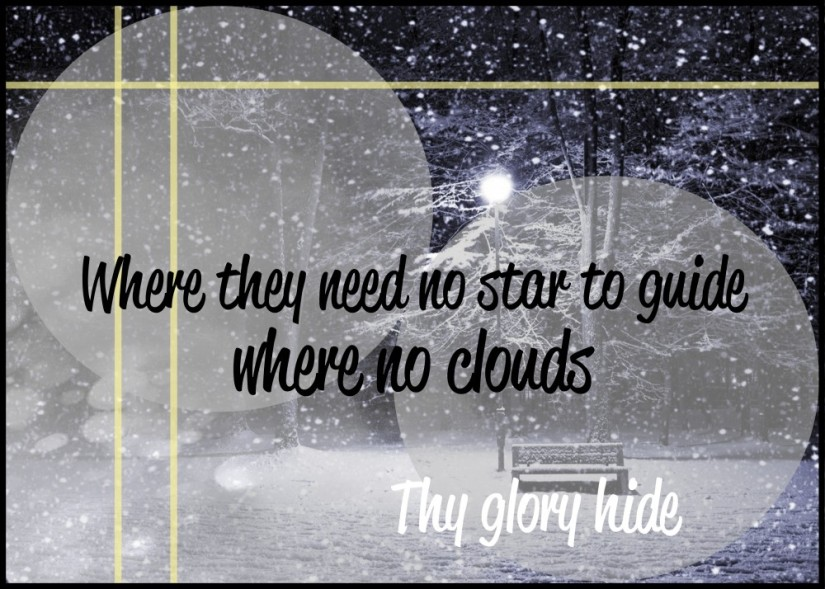 where they need no star to guide